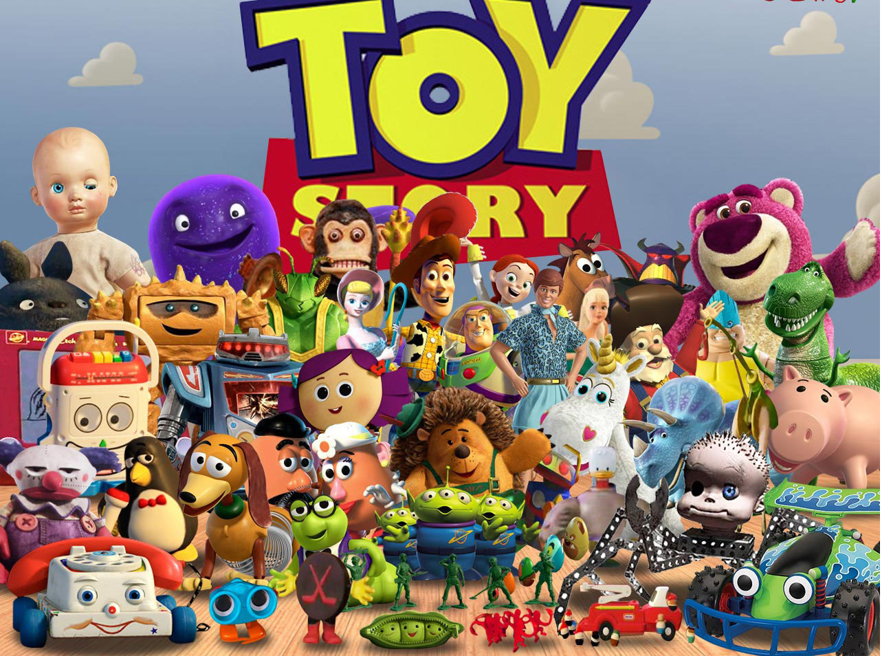 Toy Story Character List : A list of clean movies toy story